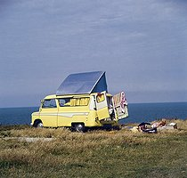 Camping site in the 1960's-1970's. © Roger-Viollet