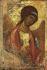 """Jean d'Autriche (1545-1578). """"L'Archange Saint Michel"""". Détrempe sur bois. Moscou (Russie), galerie Tretiakov. © Iberfoto / Roger-Viollet"""