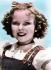 Shirley Temple (1928-2014) actrice américaine. Photo colorisée. © TopFoto/Roger-Viollet
