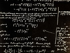 Manuscrit du physicien américain d'origine allemande Albert Einstein (1879-1955).  © Roger-Viollet