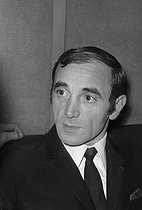 Charles Aznavour (1924-2018), Armenian-born French singer-songwriter and actor, circa 1960. © Roger-Viollet