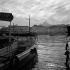 Le Vieux Port et Notre-Dame de la Garde. Marseille (Bouches-du-Rhône), années 1950. © Hélène Roger-Viollet/Roger-Viollet