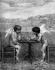 Jean-Ernest Aubert (1824-1906). Cupids playing draughts. 1899 art salon. © Neurdein/Roger-Viollet