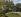 """Pierre Auguste Renoir (1841-1919). """"Le pont du chemin de fer à Chatou"""" ou """"Les marronniers roses"""". Huile sur toile, 1881. Paris, musée d'Orsay.  © Iberfoto / Roger-Viollet"""