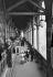 Eiffel Tower. Upper gallery on the first floor. Paris (VIIth arrondissement), around 1900. © Neurdein / Roger-Viollet