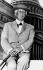 Frank Lloyd Wright (1867-1959), architecte américain. Washington (Etats-Unis), 9 juillet 1955. © TopFoto / Roger-Viollet