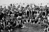 Beach in France around 1930-1935. © Roger-Viollet