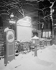 Place d' Italie, entrée du métro, sous la neige, Paris (XIIIème arr.). Photographie de René Giton dit René-Jacques (1908-2003). Bibliothèque historique de la Ville de Paris.  © René-Jacques / BHVP / Roger-Viollet