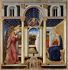 "Bicci di Lorenzo (1373-1452). ""Annonciation"", 1393-1452. Florence (Italie), galerie de l'académie. © Alinari/Roger-Viollet"