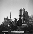 La cathédrale Notre-Dame. Paris (IVème arr.), mars 1949. © Roger-Viollet