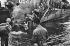 World War II. Normandy landings. Transport of troops, June 1944. © Roger-Viollet