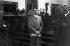 Allemagne nazie. Adolf Hitler au Berghof, pendant que Joachim von Ribbentrop négociait à Moscou, le pacte germano-soviétique. Août 1939. Album d'Eva Braun.   © Roger-Viollet
