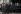 Nelson Mandela (1918-2013), président de la République d'Afrique du Sud, entouré de F.W. De Klerk et de Thabo Mbeki sur les marches du Parlement juste après son élection. Le Cap (Afrique du Sud), mai 1994. Photo : Louise Gubb. © The Image Works / Roger-Viollet