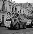 Camions de manifestants. La Havane, Cuba, mars 1959. © Roger-Viollet