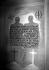 Guerre 1939-1945. Décoration murale représentant un soldat allemand et un soldat français de la L.V.F. (Légion des volontaires français) morts sur le front russe, accompagnée d'un texte de Jacques Doriot. Paris, Exposition anti-bolchevique, 1942. © LAPI/Roger-Viollet