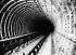Construction du métropolitain de Paris. Ligne Nord-Sud : tube Berlier sous la Seine, 1910. © Maurice-Louis Branger/Roger-Viollet