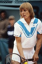 Roland-Garros French Open. Martina Navratilova (born in 1956). Paris, 1984. © Jean-Pierre Couderc/Roger-Viollet