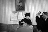 Mrs de Gaulle voting in Colombey-les-Deux-Eglises (Haute-Marne), on September 24, 1967. © Roger-Viollet