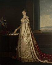 Attributed to Robert Lefèvre (1755-1830). The Empress consort Joséphine de Beauharnais (1763-1814). Rome (Italy), Museo Napoleonico. © Roger-Viollet