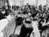 Politique extérieure. Le ministre des Affaires étrangères soviétique Andrei Gromyko en visite à Bonn, se soumettant aux questions des journalistes allemands et étrangers lors de la conférence de presse fédérale. Allemagne, 19 janvier 1983. © Ullstein Bild / Roger-Viollet