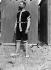 Bather. La Baule-les-Pins (Loire-Atlantique), 1902.      © Roger-Viollet