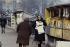 Bouquiniste sur les quais. Paris, mars 1968. Photographie de Gösta Wilander (1896-1982). Paris, musée Carnavalet. © Gösta Wilander / Musée Carnavalet / Roger-Viollet