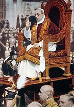 Pius XII (Eugene Pacelli, 1876-1958), pope, 1941. © Roger-Viollet