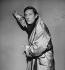 """Loin de Rueil"" by Raymond Queneau. Music by Maurice Jarre. Jean Rochefort. Paris, Théâtre National Populaire, November 1961. © Studio Lipnitzki/Roger-Viollet"