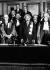 Albert Einstein (1879-1955), physicien et mathématicien allemand, promu Docteur Honoris Causa à la Sorbonne, à Paris.  © Roger-Viollet