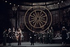 """Faust"", opera by Goethe, composed by Charles Gounod. Direction : Jorge Lavelli. Conductor : Charles Mackerras. Tom Krause, Nicolaï Ghiaurov, Renée Auphan, Jean-Louis Soumagnas and Nicolaï Gedda. Opéra de Paris, April 1976. © Colette Masson / Roger-Viollet"