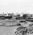 New buildings during the drilling of the Suez Canal (Egypt), 1869. © Léon et Lévy/Roger-Viollet