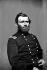 Guerre de Sécession, 1861-1865. Ulysses S. Grant (1822-1885), général américain et dix-huitième président des Etats-Unis (1869 -1877), qui mena l'Union à la victoire en prenant Vicksburg en 1863 et Richmond en 1865.  © TopFoto / Roger-Viollet