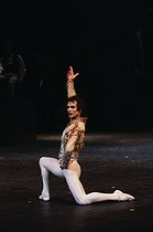 """Don Quixote"". Choreographed and performed by Rudolf Nureyev. Paris, Opéra Garnier, 1981. © Colette Masson/Roger-Viollet"