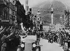 Anschluss. The Nazis arriving in Innsbruck, on Maria-Theresien Strasse. Austria, 1938. © LAPI / Roger-Viollet