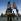 La Havane (Cuba). Ecoliers tenant le drapeau cubain, pendant le carnaval sous le monument érigé à la mémoire d'Antonio Macéo. Années 1980.     GLA-BFC-PLANCHE4-15 © Gilberto Ante/BFC/Gilberto Ante/Roger-Viollet