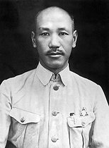 October 10, 1928 (90 years ago) : Chiang Kai-shek (1887-1975), Chinese officer and statesman becomes leader of the Republic of China © Underwood Archives / The Image Works / Roger-Viollet