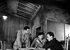 """""""J'irai cracher sur vos tombes"""" by Boris Vian. Boris Vian and Fred Pasquali. Paris, Théâtre Verlaine, April 1948. © Studio Lipnitzki/Roger-Viollet"""