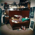 Appartement témoin - chambre de jeune fille. Vers 1960-1965. © Roger-Viollet
