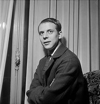 Karlheinz Stockhausen (1928-2007), German composer. Paris, January 1960. © Studio Lipnitzki/Roger-Viollet