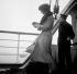 "Passenger aboard the ""Champlain"" transatlantic liner. France, 1934. © Boris Lipnitzki / Roger-Viollet"