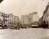 Place Saint-André-des-Arts, le jour de la démolition. Paris, 10 juillet 1898. Photographie d'Eugène Atget (1857-1927). Paris, musée Carnavalet. © Eugène Atget / Musée Carnavalet / Roger-Viollet