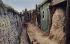 Guerre 1914-1918. Vie dans une tranchée. Carte postale. 1915-1916. © Ullstein Bild/Roger-Viollet