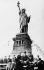 Célébration du 50ème anniversaire de la construction de la statue de la Liberté. New York (Etats-Unis), 1936. © Imagno / Roger-Viollet