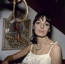 Marie Laforêt (1939-2019), French singer and actress, in the 1960's. © Roger-Viollet