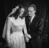 """Jean Vilar et Maria Casarès dans """" Roméo et Jeannette """" de Jean Anouilh. Paris, théâtre de l'Atelier, décembre 1946. © Studio Lipnitzki/Roger-Viollet"""