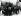 Guerre 1939-1945. Ghetto de Varsovie. Des hommes juifs sont emmenés par des soldats de la Wehrmacht pour travailler dans des sites en dehors du ghetto. Pologne, 1941. Galerie Bilderwelt, Berlin. © Bilderwelt/Roger-Viollet