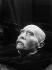 François Sicard (1862-1934), Death mask of Georges Clemenceau (1841-1929), French statesman. Plaster moulding, 1929. Mouilleron-en-Pareds (France), musée national Clemenceau-De Lattre. © Roger-Viollet