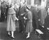 Le prince Rainier III de Monaco, le général De Gaulle et leurs épouses. Monaco, le 23 octobre 1960. © TopFoto/Roger-Viollet
