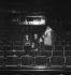 "Jean Giraudoux attending a rehearsal of his play ""Judith"" with Louis Jouvet. Paris, théâtre Pigalle, 1931. © Boris Lipnitzki / Roger-Viollet"