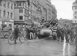 """Guerre 1939-1945. Entrée des chars de Leclerc à Strasbourg (Bas-Rhin). Canon automoteur Howitzer M.6. """"Priest"""". Novembre 1944. © Neurdein/Roger-Viollet"""